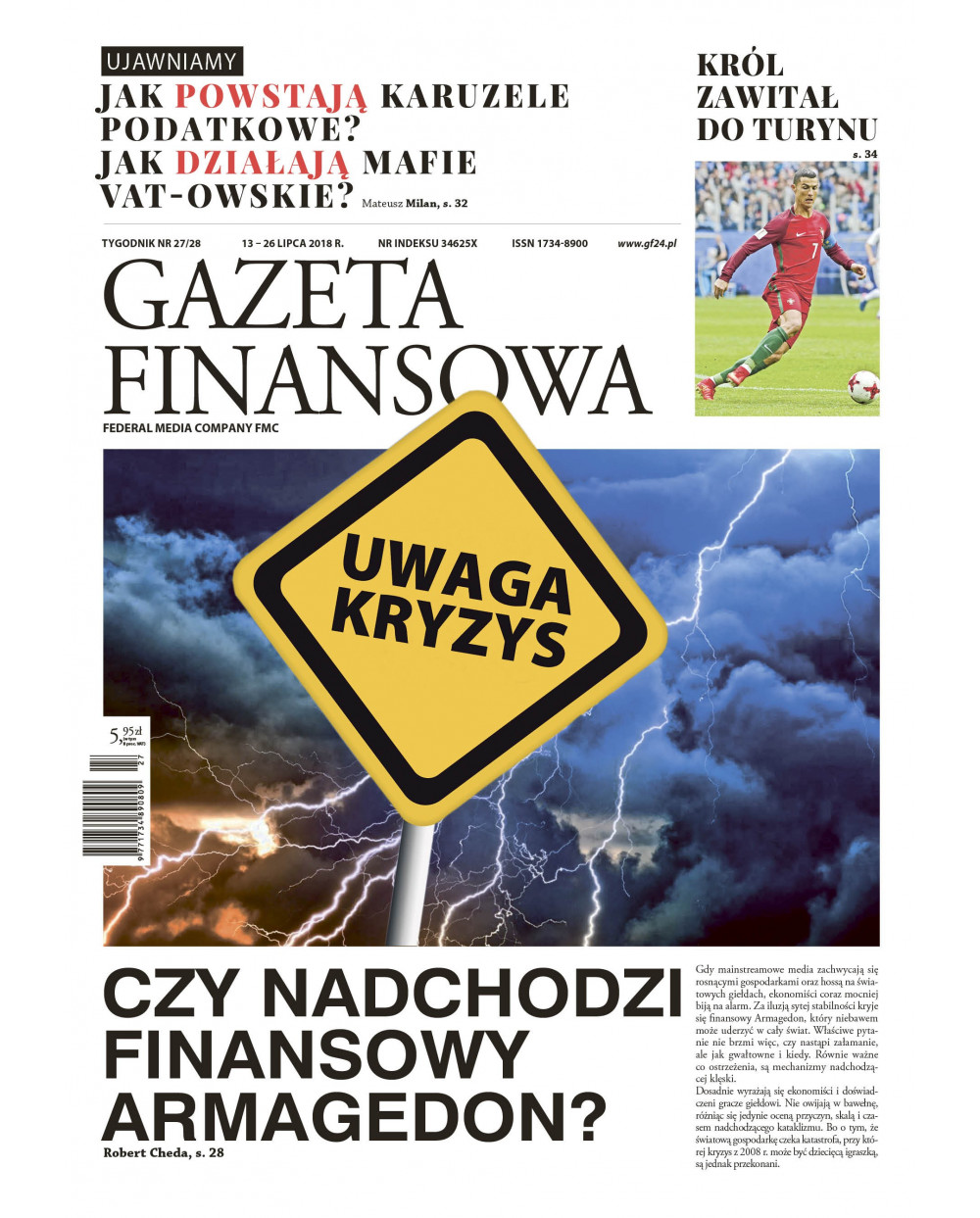 Gazeta Finansowa 25-26/2018