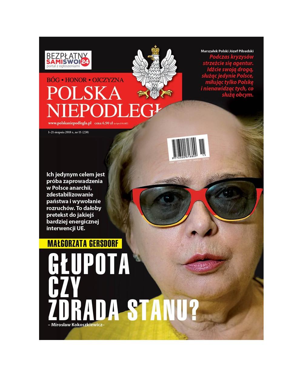 Polska Niepodległa 15/2018