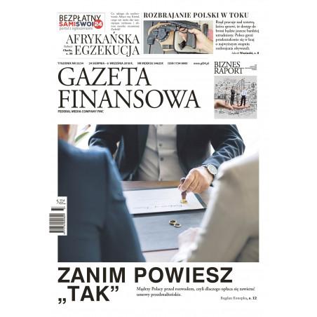 Gazeta Finansowa 33-34/2018