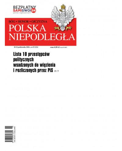 Polska Niepodległa 19/2018
