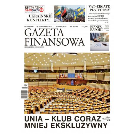 Gazeta Finansowa 40/2018