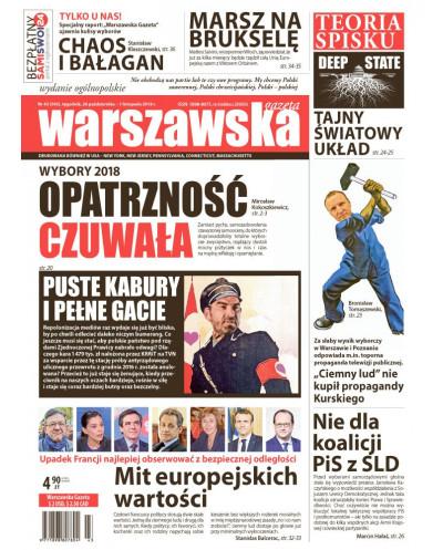 Warszawska Gazeta 43/2018