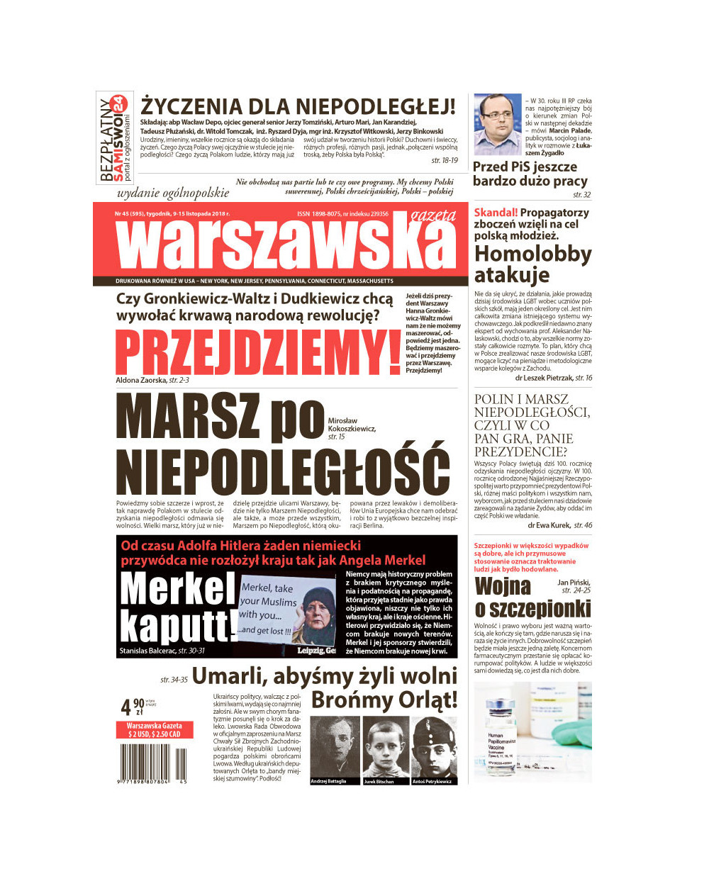 Warszawska Gazeta 45/2018