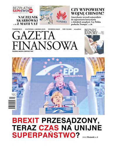 Gazeta Finansowa 47/2018