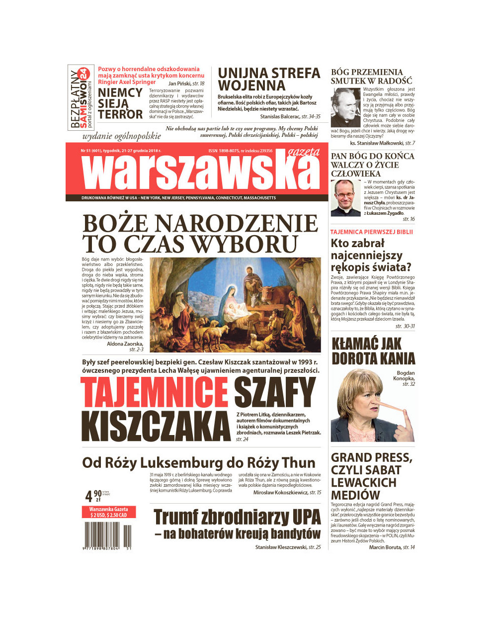 Warszawska Gazeta 51/2018