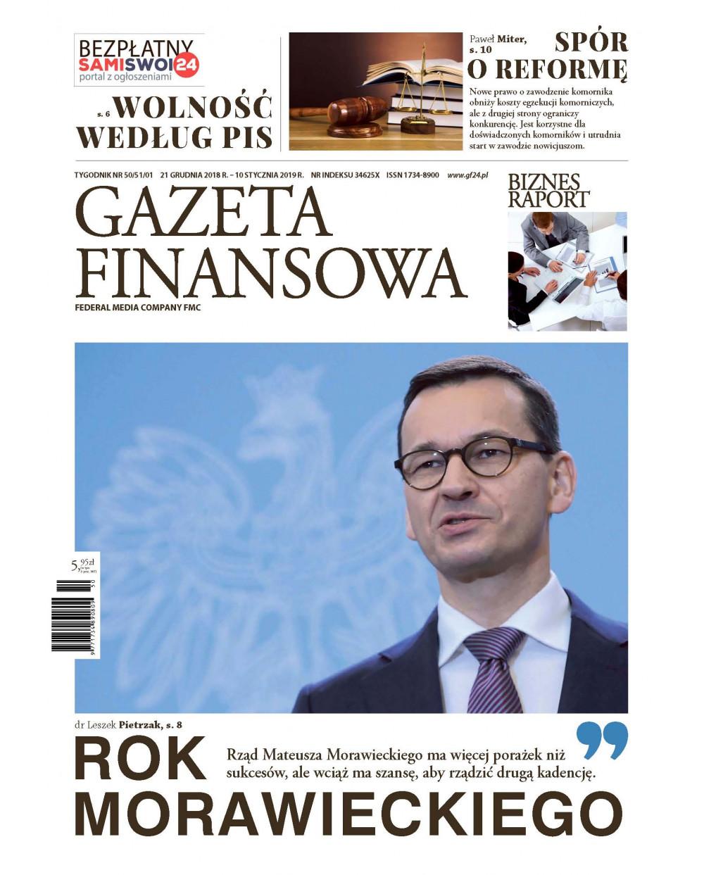 Gazeta Finansowa 50/51/01/2018