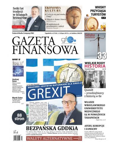 Gazeta Finansowa 27-28/2015