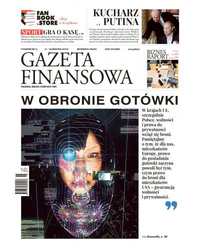 Gazeta Finansowa 15/2019