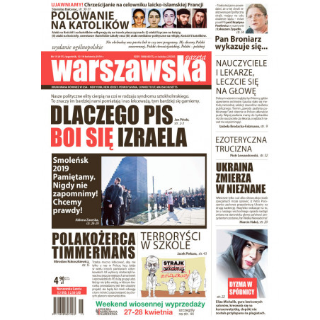 Warszawska Gazeta 15/2019