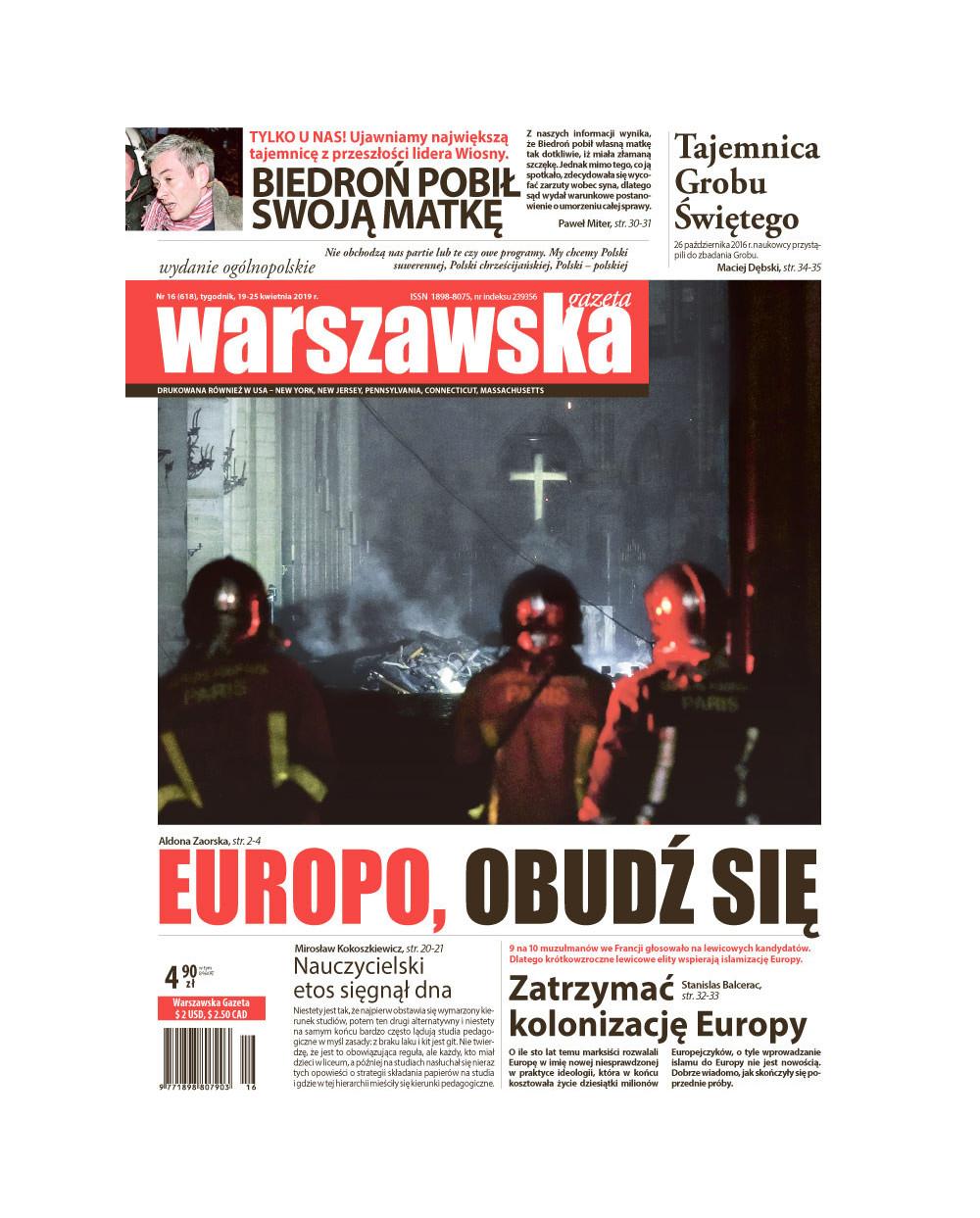 Warszawska Gazeta 16/2019