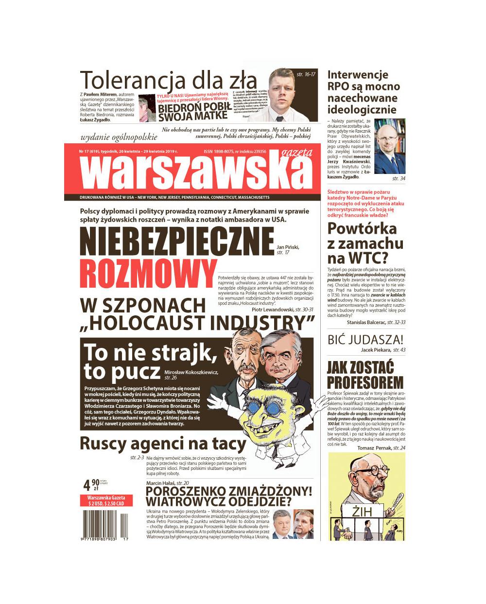 Warszawska Gazeta 17/2019