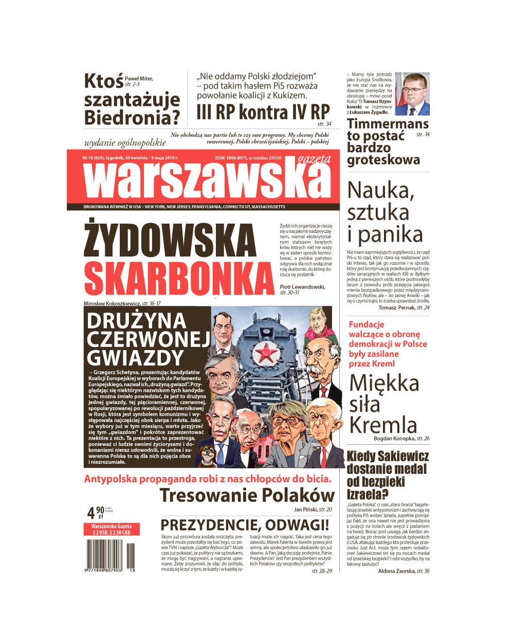 Warszawska Gazeta 18/2019