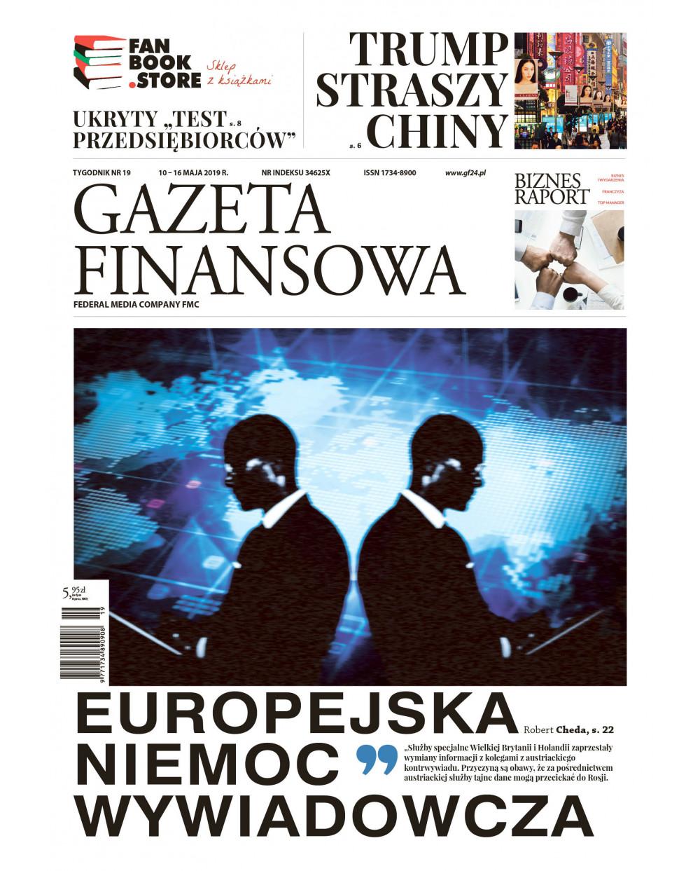 Gazeta Finansowa 19/2019