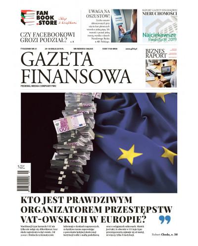 Gazeta Finansowa 21/2019