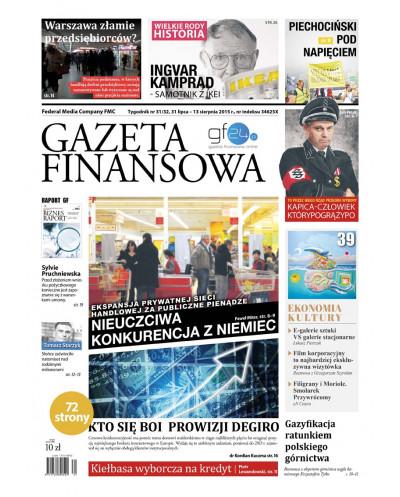 Gazeta Finansowa 31-32/2015