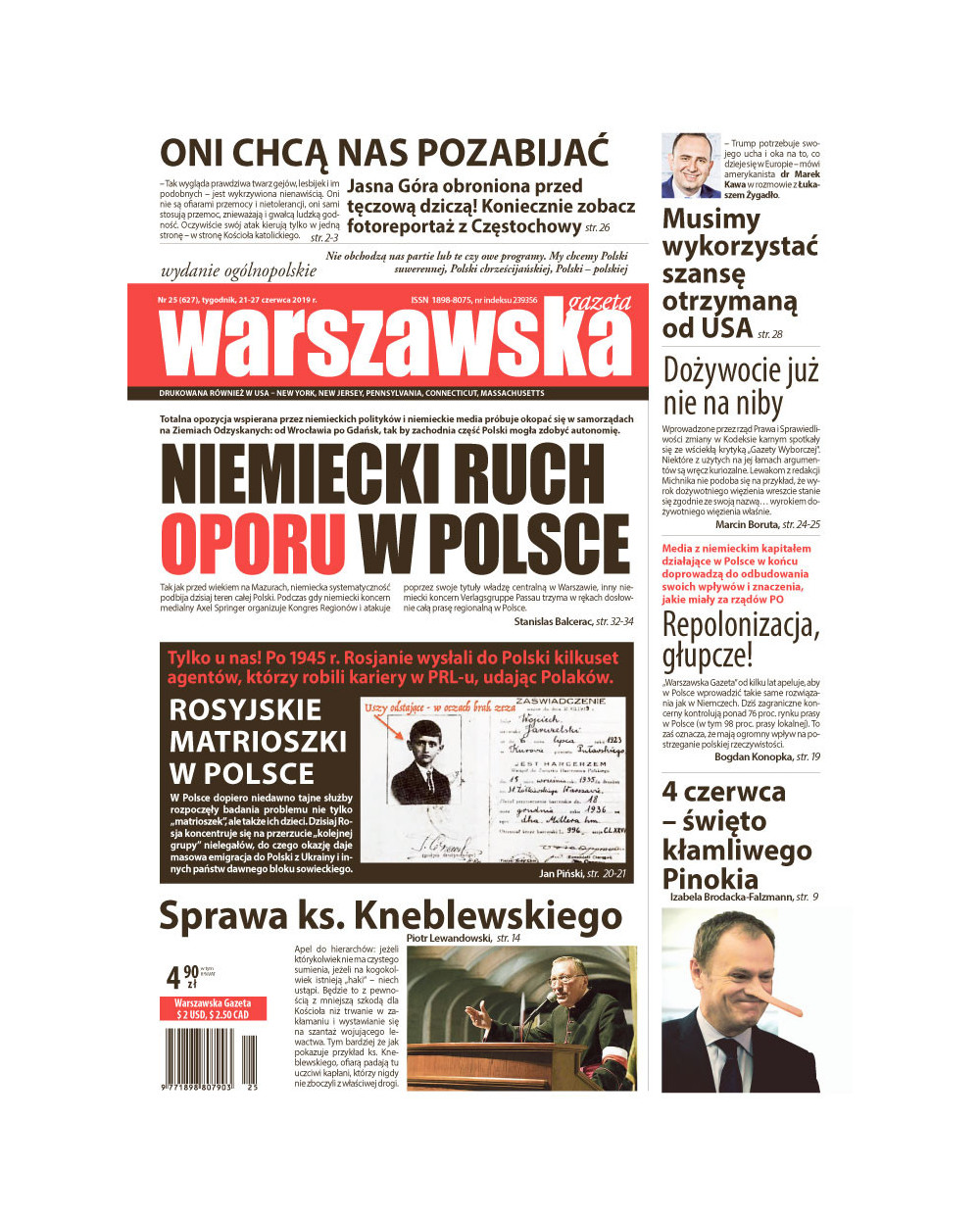 Warszawska Gazeta 25/2019