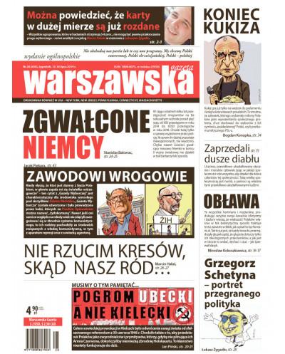 Warszawska Gazeta 28/2019