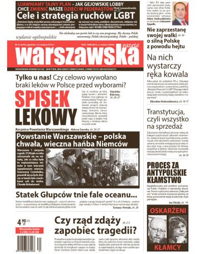 Warszawska Gazeta 31/2019