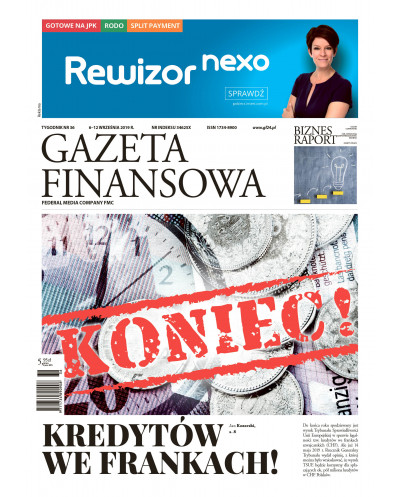 Gazeta Finansowa 36/2019