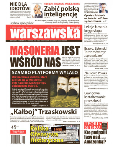 Warszawska Gazeta 36/2019