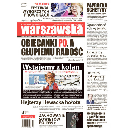 Warszawska Gazeta 37/2019
