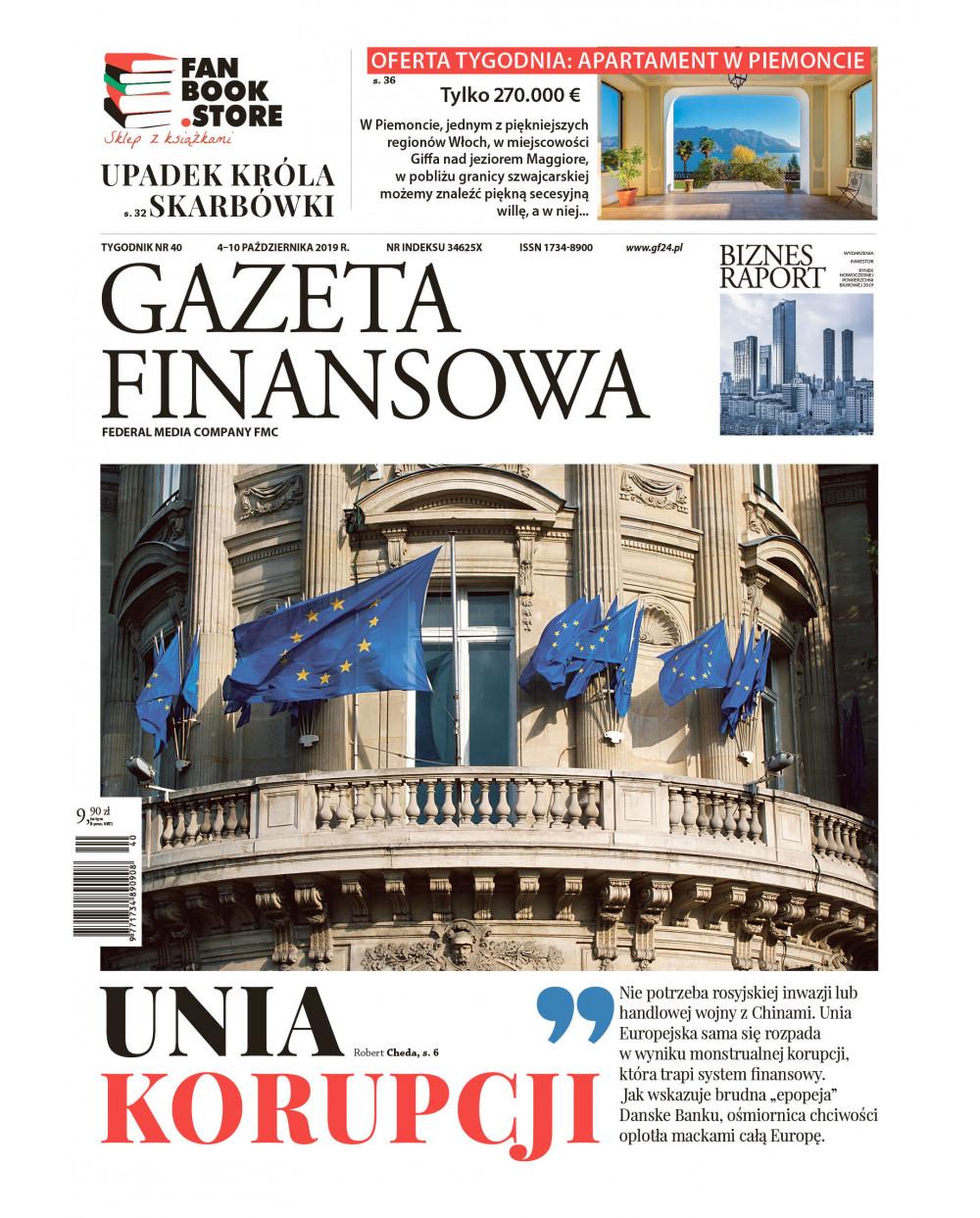 Gazeta Finansowa 40/2019