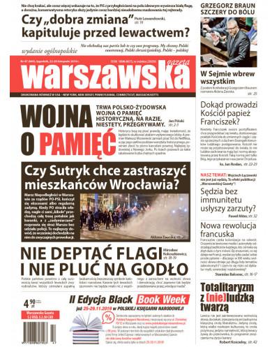 Warszawska Gazeta 47/2019