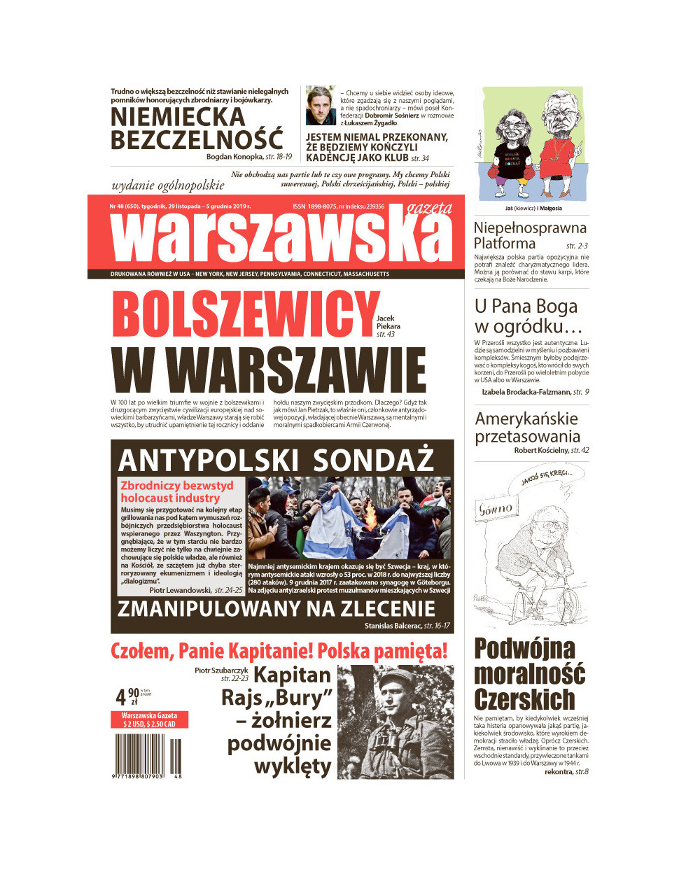 Warszawska Gazeta 48/2019