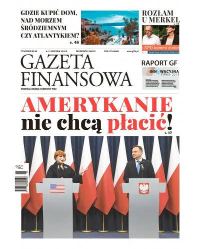 Gazeta Finansowa 49/2019
