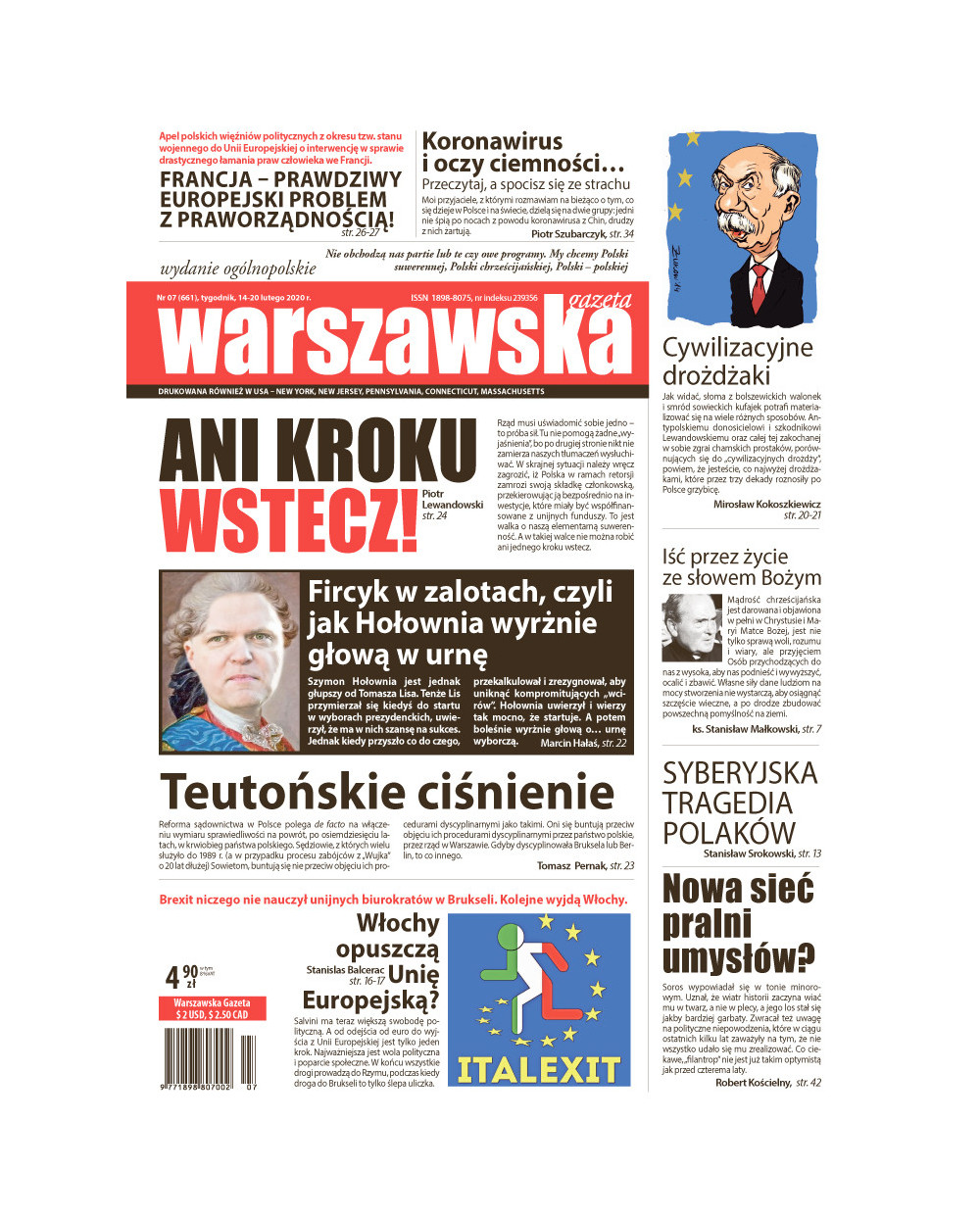 Warszawska Gazeta 07/2020