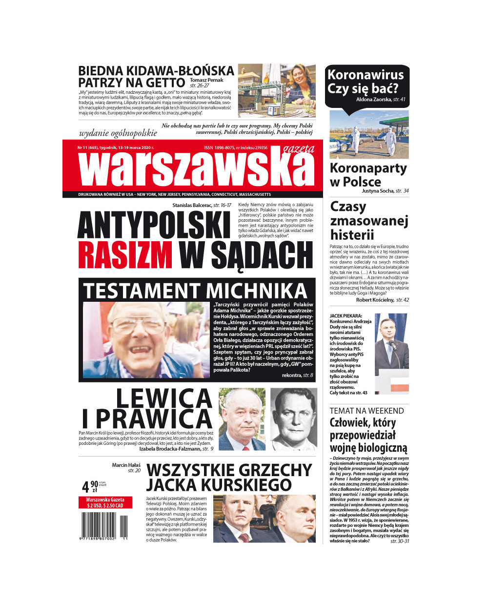 Warszawska Gazeta 11/2020