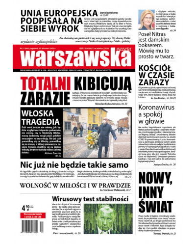 Warszawska Gazeta 12/2020