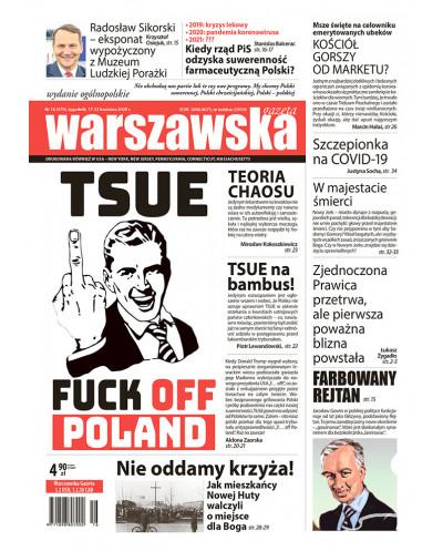 Warszawska Gazeta 16/2020