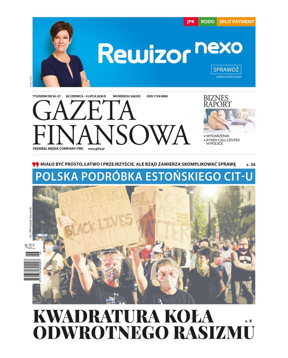 Gazeta Finansowa 26-27/2020