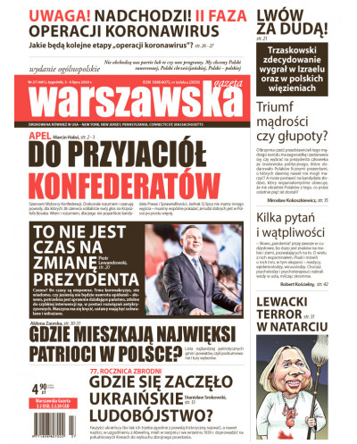 Warszawska Gazeta 27/2020