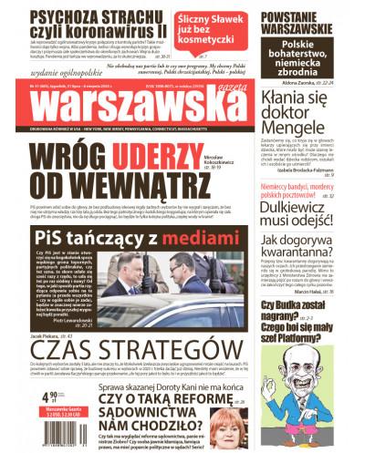 Warszawska Gazeta 31/2020