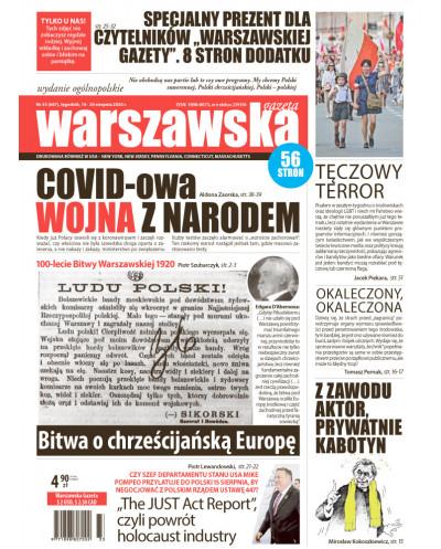 Warszawska Gazeta 32/2020